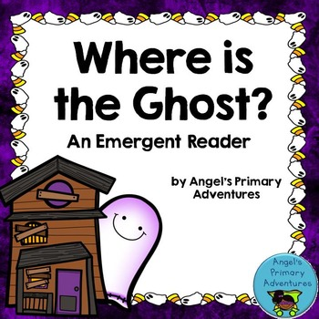 Halloween Emergent Reader:  Where is the Ghost?