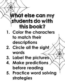 Halloween Emergent Reader and Writing Activities