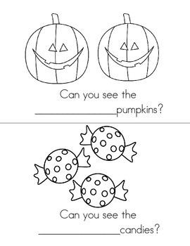 Halloween Emergent Readers