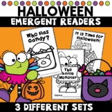 Halloween Emergent Readers Kindergarten