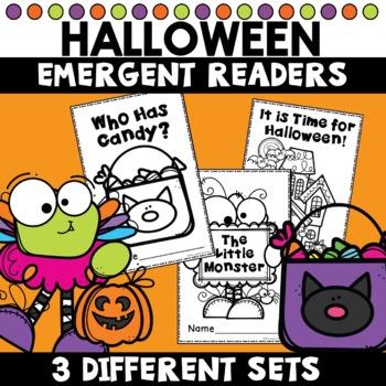 Halloween Emergent Readers Kindergarten