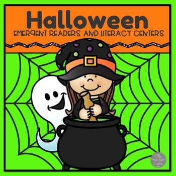 Halloween Emergent Readers and Literacy Centers