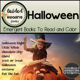 Halloween Emergent Guided Readers