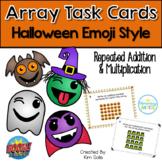 Halloween Array Task Cards - Print & Digital Boom Cards  