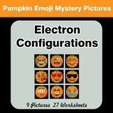 Halloween Emoji: Electron Configurations - Mystery Pictures