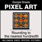 Halloween Emoji: Rounding to the nearest 100th - Google Sh