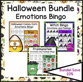 Halloween Emotions and Feelings Bingo Bundle