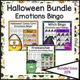 Halloween Activities Emotions and Feelings Bingo Bundle