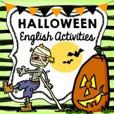 Halloween English Activities