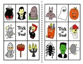 Halloween Colored Bingo Game