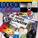 Halloween Activity | Lockbox Challenge | Halloween Enrichment | Breakout Box