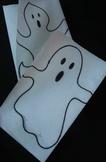 Halloween Envelope Ghost Hand Puppet