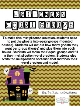 Halloween Equal Groups