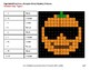 Halloween: Equivalent Fractions - Color-By-Number Math Mystery Pictures
