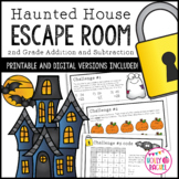 Halloween Escape Room Addition and Subtraction
