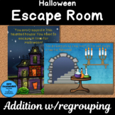 Halloween Escape Room Addition with regrouping