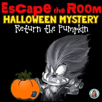 Halloween Escape Room | Editable