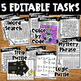 Halloween Escape Room   Editable Escape Room Halloween Math & ELA Activities