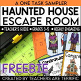Halloween Escape Room FREEBIE
