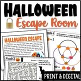 Halloween Escape Room Game