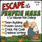 Halloween Escape Room   Math – 3-digit Addition & Subtract