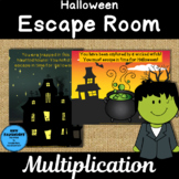 Halloween Escape Room Multiplication