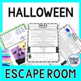 Halloween Escape Room - October Activity