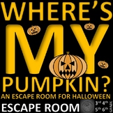 Halloween - Escape Room: Problem Solving, Math, Language, Science
