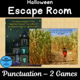 Halloween Escape Room Punctuation