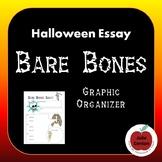 Halloween Essay - Bare Bones Graphic Organizer