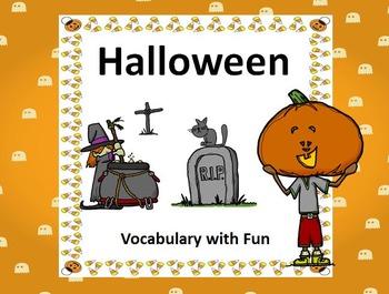 Halloween Essential Vocabulary with Fun Activities