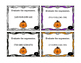 Halloween Math Activity Evaluate the Expression (add & subtract) Task Card