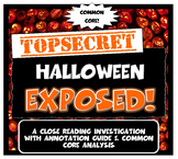 Halloween Exposed: Lesson Plan with Graphic Organizer