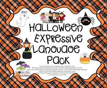 Halloween Expressive Language Pack