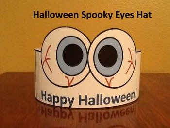 Halloween Spooky Eyes Headband