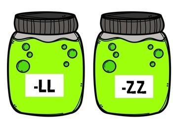 Halloween FLOSS (Doubling Consonants ss, ll, ff, zz) Sort