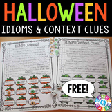 FREE Halloween Games for Idioms & Context Clues