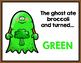 Halloween FREEBIE {Chocolate Chip Ghost}