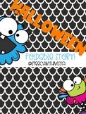 Halloween FREEBIE Foldable Story!