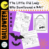Halloween There was an Old Lady Who Swallowed a Bat Dollar Deal