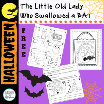 Halloween FUN 4 K-1 Retelling Bag for There was an Old Lad