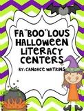 "Halloween Fa""boo""lous Literacy Activities"