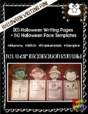 Halloween Face Templates and Writing Pages (S.Malek)