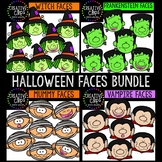 Halloween Faces Bundle {Creative Clips Clipart}