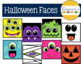 Halloween Faces Clip Art