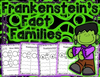 Halloween Fact Families with Frankenstein
