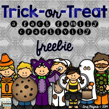 Halloween Fact Family ~ FREEBIE!