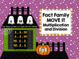 Halloween Fact Family MOVE IT! Multiplication and Division Facts