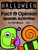 Halloween Fact & Opinion {SPANISH}