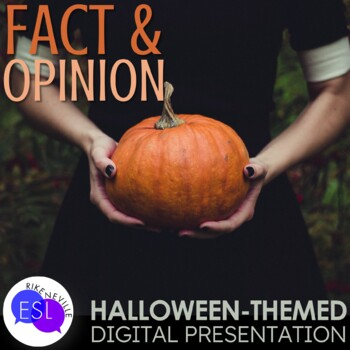 Halloween Fact and Opinion Digital Presentation